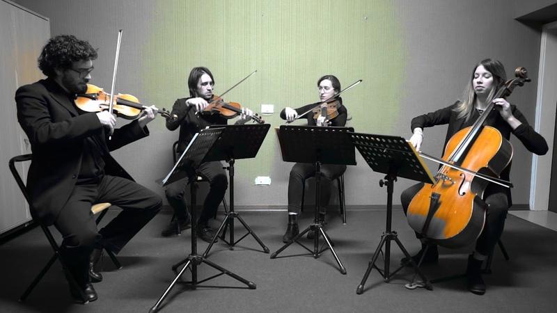 Wedding string quartet Tuscany Italy - Obladi Oblada The Beatles