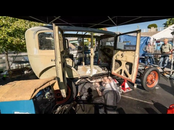 Time Lapse Ford Model A Built In 2 Mintues