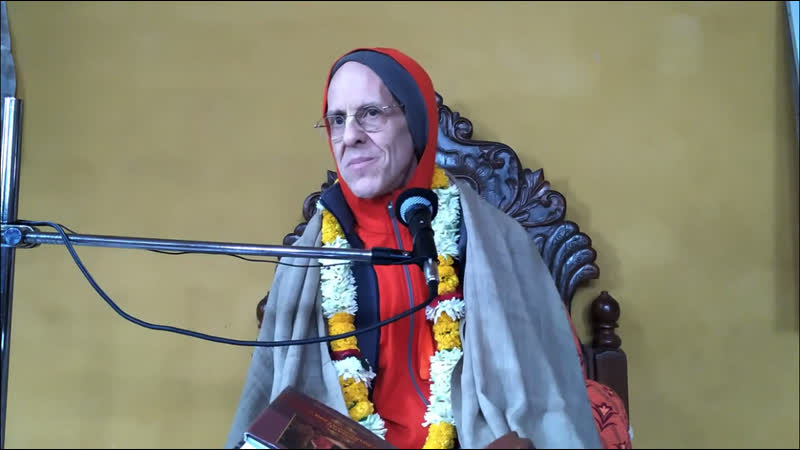 2018 12 20 Джайадвайта Свами ШБ 9 13 11 Майапур Индия