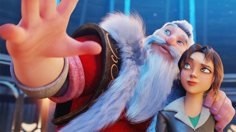 Эллиот Русский трейлер семейного мультфильма Elliot the Littlest Reindeer 2018