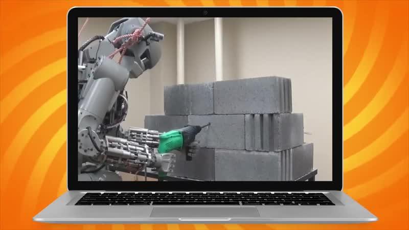 Робот Фёдор на МКС дичь