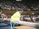 1988 Paul Hunt gymnastics comedy beam routine