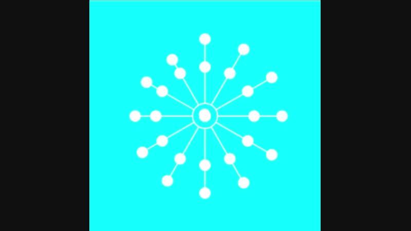 Одуванчик SVG анимация