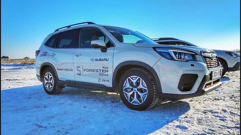 Тест-драйв нового Subaru Forester. г. Астана