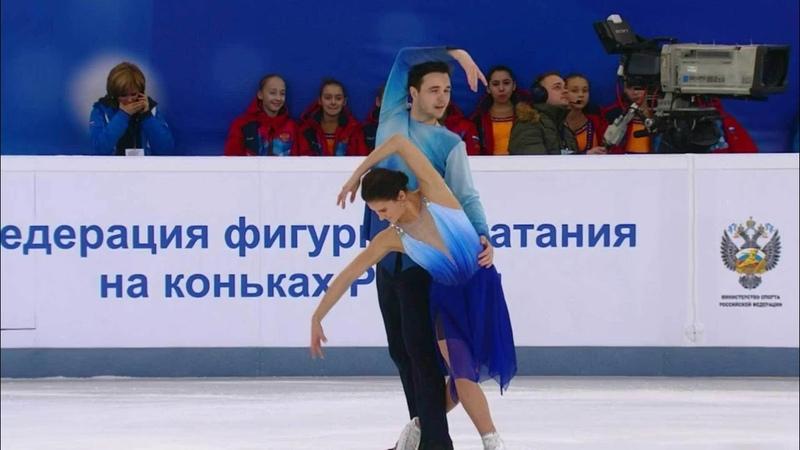 Софья ЕвдокимоваЕгор Базин, ПТ, Чемпионат России 2018