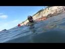 Архипо Осиповка. Черное море. Дайвинг на пляже 2018 год. крабы