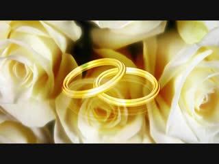 Футаж для видео, заставки. Романтика, любовь, свадьба, бракосочетание.