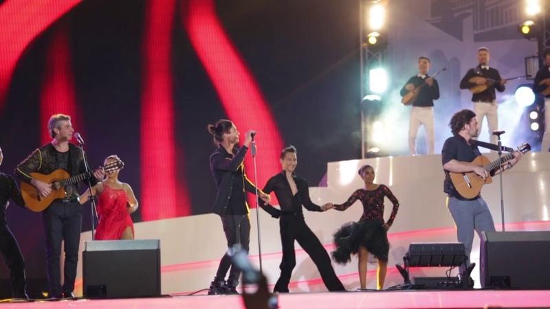 Хулио Иглесиас, Gipsy Kings и Алессандро Сафина выступили на EXPO в честь дня Астаны