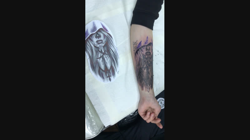Doberman Tattoo — Live