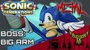 Sonic Generations Boss Battle Big Arm Intense Symphonic Metal Cover