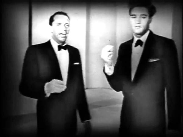 FRANK SINATRA ELVIS PRESLEY in duet. (HD)