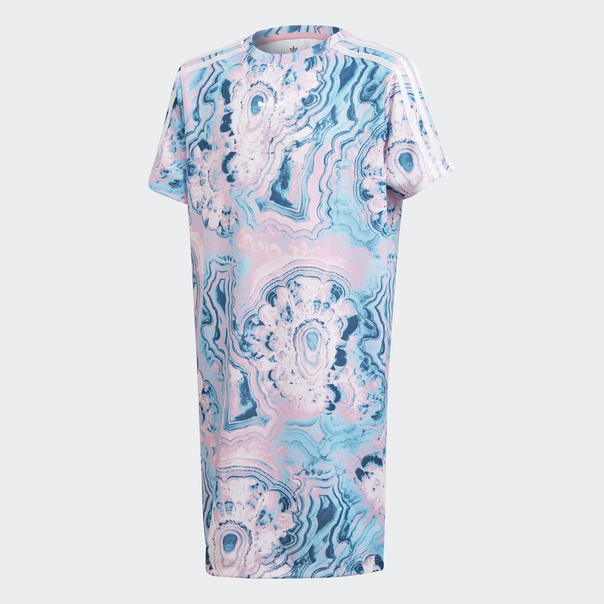 Платье-футболка Marble