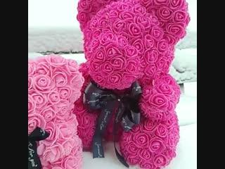 Мишки из роз Иркутск