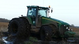 Best Of John Deere 8530 Pure Sound Mudding, Stucks, Pulling &amp Working Hard Danish Agriculture