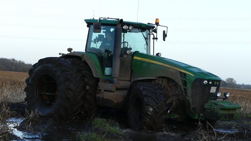 Best Of John Deere 8530 | Pure Sound | Mudding, Stucks, Pulling Working Hard | Danish Agriculture