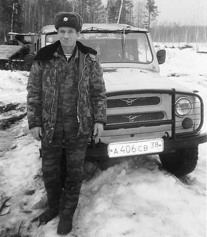 Егерь Алексей Сизых