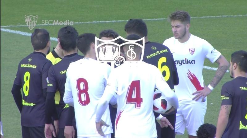 (1-0) Segunda victoria consecutiva del filial para salir del pozo