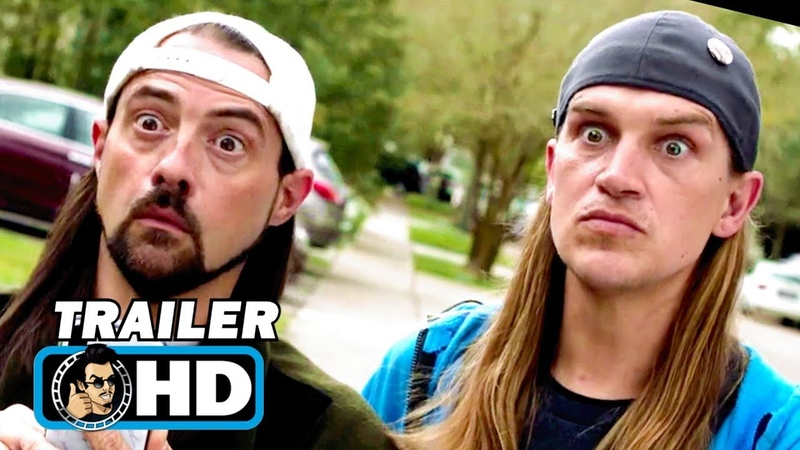 JAY AND SILENT BOB REBOOT Trailer (2019) Kevin Smith Movie
