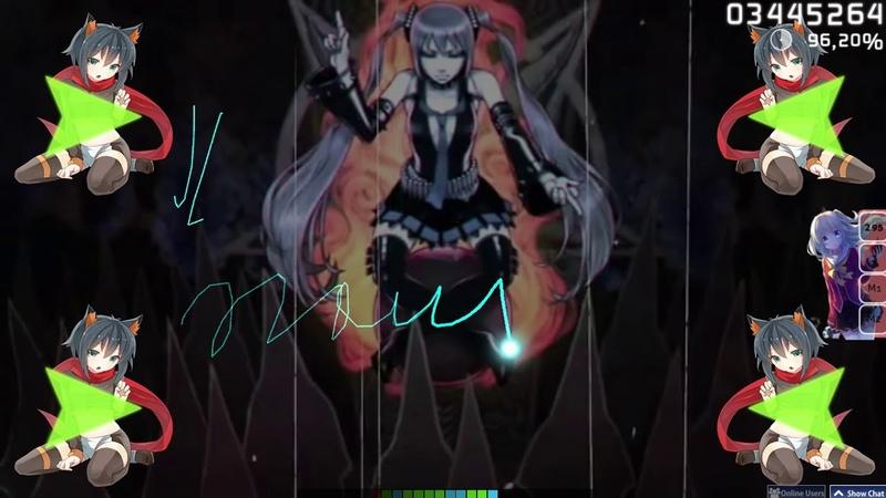 Osu! Hatsune Miku - MIKUSABBATH | 96.94 780x 4.47*
