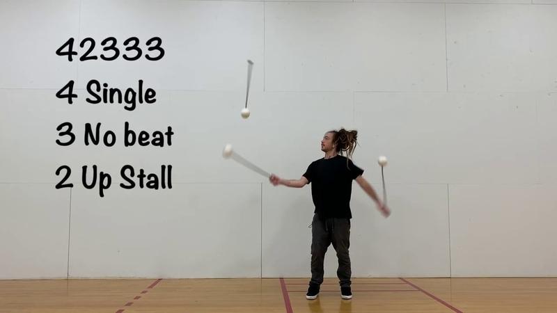Poi Juggling - Chris Kelly - Tech Poi