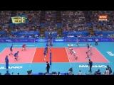22.09.2018. 22:10 - Волейбол. Чемпионат мира. Мужчины. 2 этап. 2 тур. Группа E. Россия - Италия