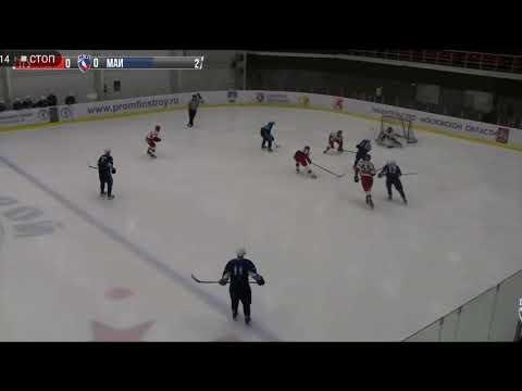 Гол Александра Глухова в матче против ХК «Держава» ТГУ