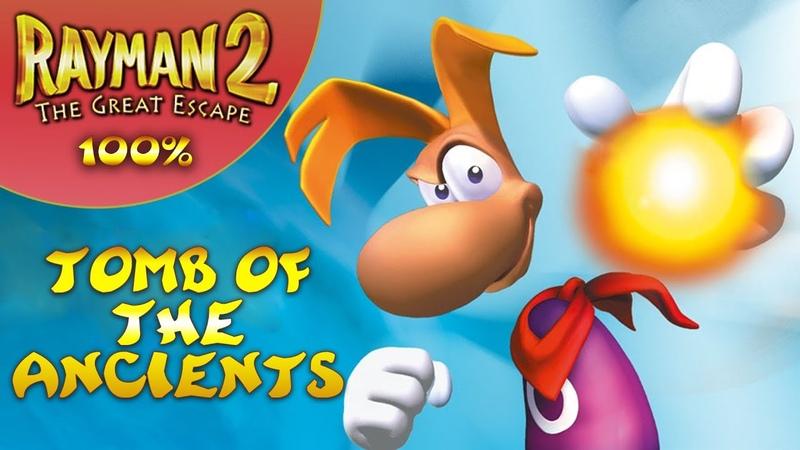 Rayman 2: The Great Escape - Все лумы и клетки - Гробница древних