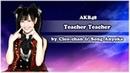 AKB48 RUS - Teacher Teacher【Cleo-chan Song Anyoka】[HBD, Jack Blue!]