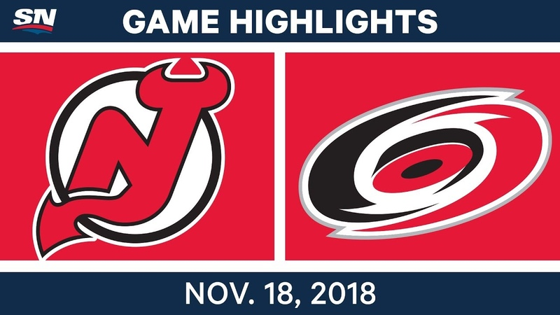 NHL Highlights   Devils vs. Hurricanes – Nov. 18, 2018