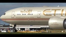 Etihad Airways Boeing 777-300ER ● Landing Takeoff at Melbourne Airport