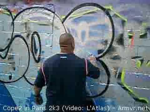 Graffiti - Cope2 in Paris