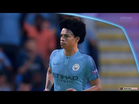 FIFA19 ЛИГА ЧЕМПИОНОВ Manchester Siti Vs Roma