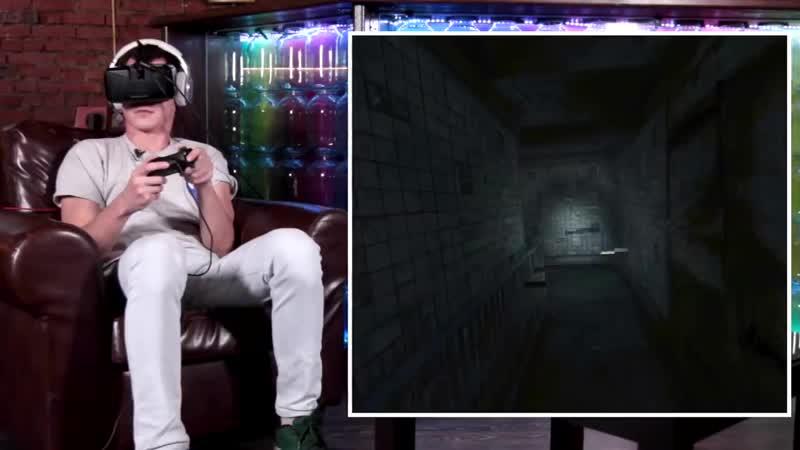 Реакции блоггеров на Affected (VR Хоррор игра).mp4
