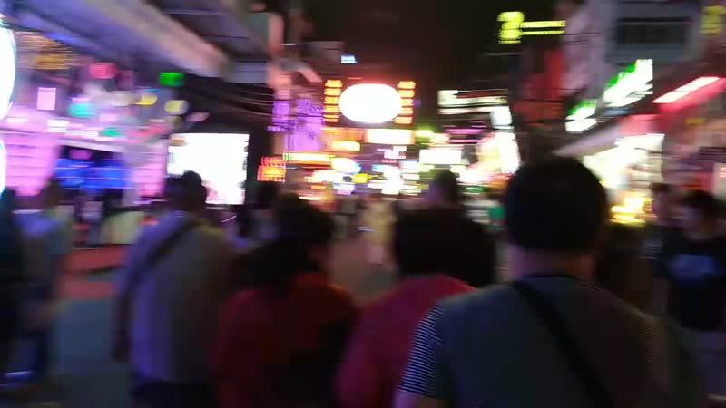 Walking street, улица разврата и свободы Юго-Восточной Азии.