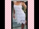 Lindos vestidos de croche tirado da net