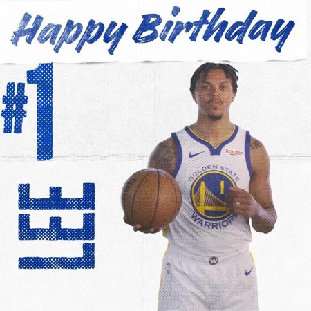 """Golden State Warriors on Instagram """"Hey DubNation, join us in wishing @dami0nlee a very Happy Birthday 🎈 🎉"""""""