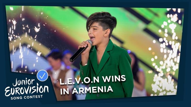 L.E.V.O.N - L.E.V.O.N (Armenia) National Final Performance - 2018 Junior Eurovision Song Contest