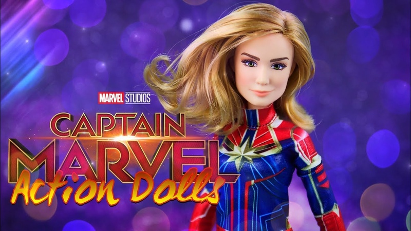 Unbox Daily ALL NEW Captain Marvel Action Dolls by Hasbro