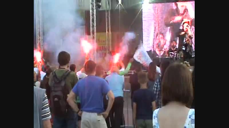 Аваллон - Черно-белый стяг (live in Tosno)