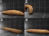 If baguettes could move, how would they move Give your reasoning pls