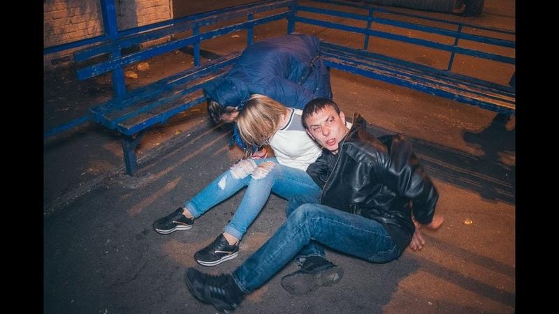 18 В Киеве при задержании пьяных грабителей произошла драка