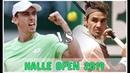 Roger Federer vs John Millman - Halle Open 2019   Match Highlights