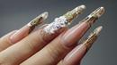 ENG CC Аквариумный дизайн ногтей Коррекция на себе Коррекция со сменой свободного края