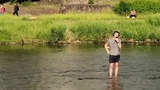 THIS MAN FLEW TO JAPAN TO SING ABBA IN A BIG COLD RIVER