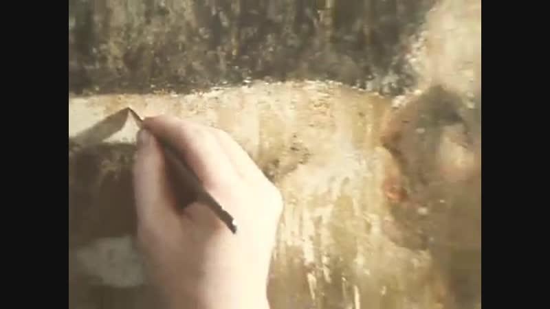 Даная Рембрандта после нападения вандала Программа Время эфир 16 03 1986 г