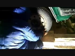 Волга. ГАЗ (3110 и подобные).Замена шкворня и резьбовых втулок (1)