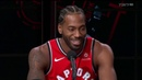 Kawhi Leonard laughs at Media Day and says he is a fun guy