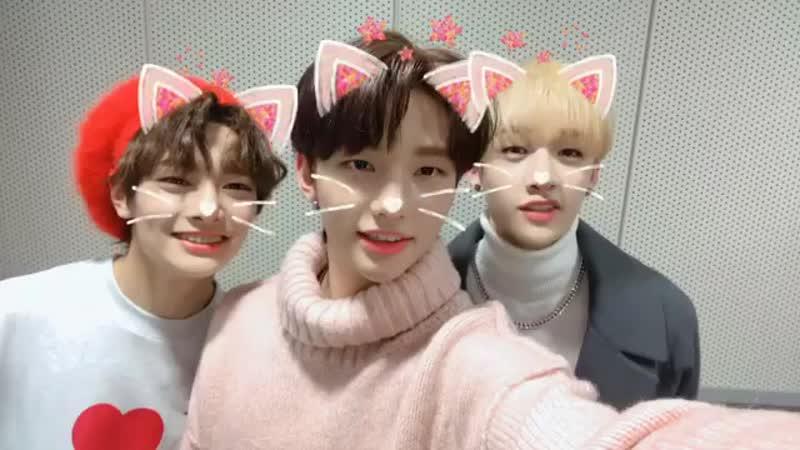 [181103] Stray Kids » Chan, Hyun Jin I.N » IG (@.lovegame1077)