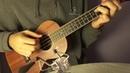 Wicked game ukulele solo w/tabs