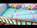 Комплект в стандартную кроватку «ВИННИ ПУХ»